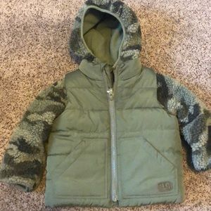 Gap sherpa 3 in 1 coat